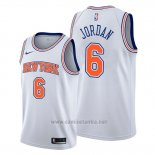 Camiseta New York Knicks Deandre Jordan #6 Statement Blanco