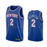 Camiseta New York Knicks Wayne Ellington #2 Statement 2020-21 Azul